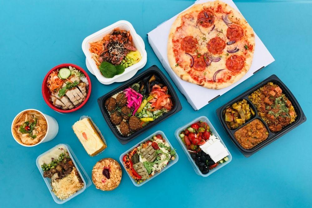 Tipps um Essen nachhaltig liefern zu lassen oder abzuholen.