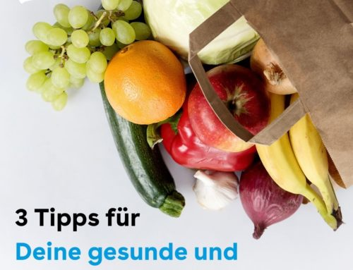 Gesunde und nachhaltige Ernährung: 3 Tipps