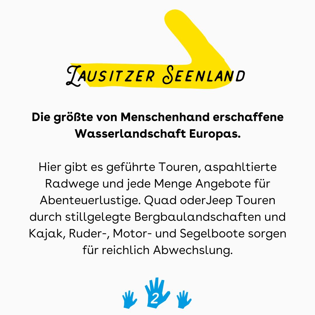 barrierefrei Lausitzer Seenland