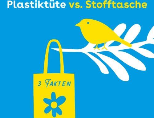 Plastiktüten vs. Stofftaschen: 3 Fakten