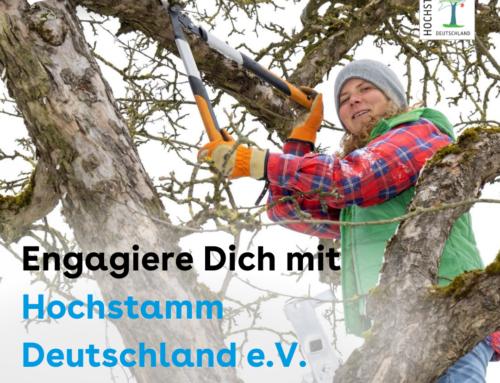 Engagiere Dich bei Hochstamm Deutschland e.V. für Streuobstwiesen